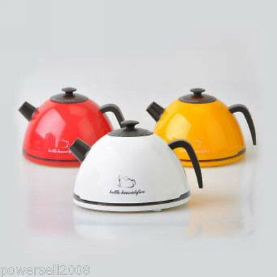 New Kettle Humidifier Purifier Ionizer Mist Spray Household Yellow Humidifier