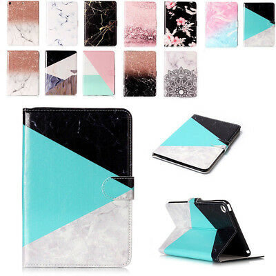For iPad 9.7 2017 /Air1 2 Pattern Card Slots Flip Stand Case Smart Leather Cover