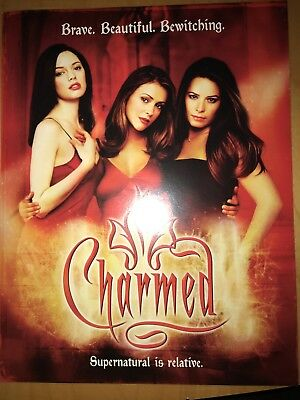 Charmed Promotional Poster. Rose McGowan. Holly Marie Combs. Alyssa Milano