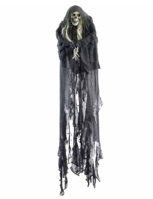 Hanging Skull Halloween Prop Scary Life Size Haunted House Horror Decoration