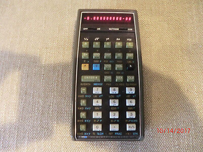 VINTAGE HP-67 Programmable Calculator with refurbished card reader