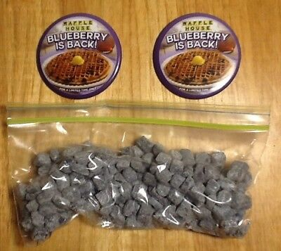 2 Waffle House Blueberry Is Back Buttons & 4 Oz Nuggets (Limited Time Flavor!)