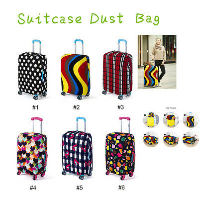Luggage Protective Cover Case Suitcase Dust Bags Travel Dust-proof Pouch Elastic