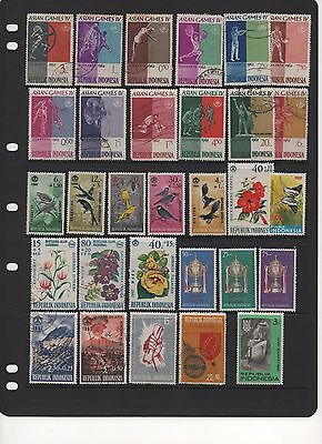 INDONESIA - Beautiful Stamps - some MINT - dating back to 1962