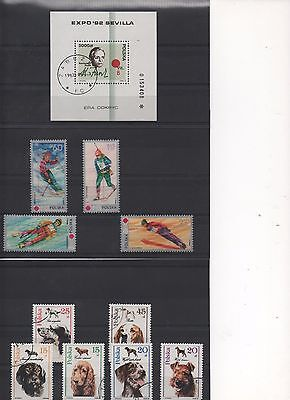 POLAND - 3 sheets of Beautiful Stamps including some MINT stamps and some blocks