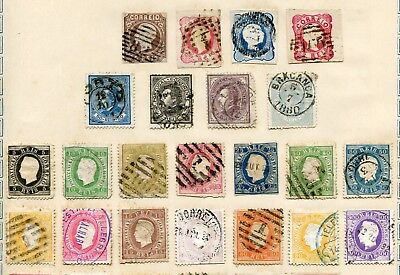 PORTUGAL -  Small collection MH/Canc.