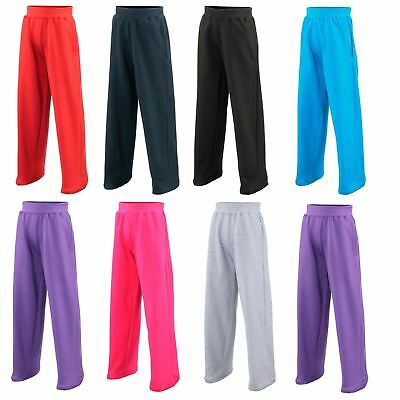 AWDis Kids Sweatpants Trousers Joggers Childrens Casual Sports Bottoms JH71J