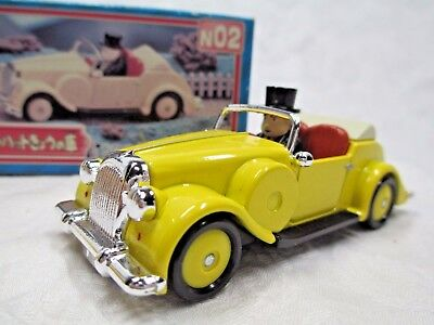 BANDAI Thomas & Friends Die-cast SIR TOPHAM YELLOW CAR 1997 Made in Japan Used