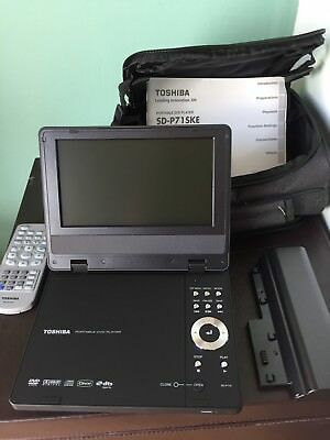 Toshiba Personal/ Travel DVD Player, VGC With Case And Instructions