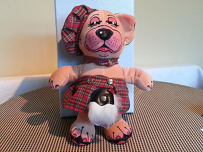 "Merrythought Bonzo Bonny Mac Made In England Ltd Edition Of 500 No 62.9.5""tall"