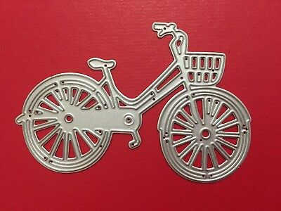 NEW• BICYCLE DIE For Cuttlebug Or Sizzix