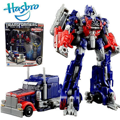 Transformers Optimus Prime Autobot Mechtech Truck Car Action Figures Toy