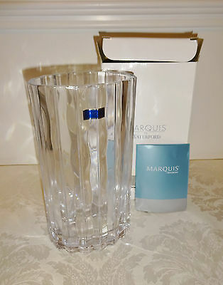 "Marquis by Waterford Oval Vase New in Box NIB 8.5"" tall #156027"