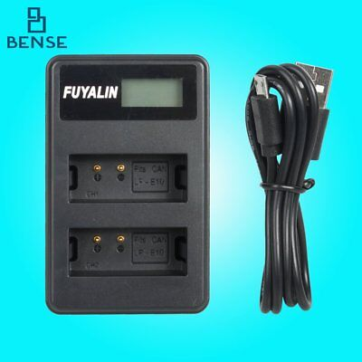 LP-E10 USB dual charger For CANON EOS 1200D 1100D Rebel T3 T5 KISS X50 X70