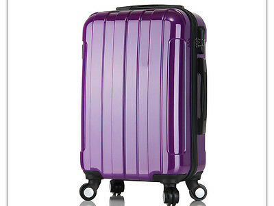 "28"" Purple Height 69cm Universal Wheel ABS+PC Travel Suitcase/Luggage Trolley *"