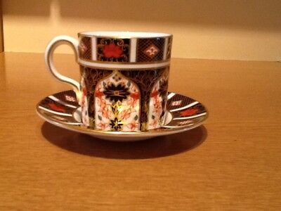 Royal Crown Derby Imari Cup and saucer 1128 1977