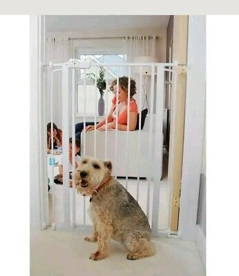 10#am Bettacare Pet Gate Stair Safety Room Divider Pinch-free Hinge Mountable