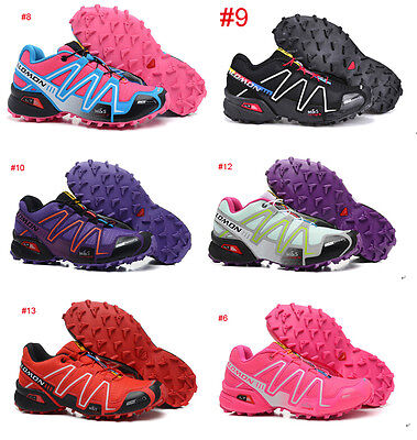 Hot Women & Lady Salomon Speedcross 3 Athletic Running Outdoor Hiking Shoes
