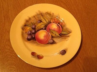 Aynsley bone china  plate orchard pattern good colour by Jones