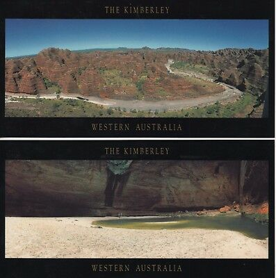 WESTERN AUSTRALIAN 7x Stunning Postcards - from THE KIMBERLEY - Auscape Prints