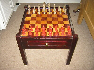 Chess Table And Figures