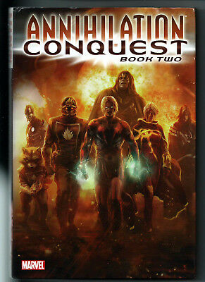 ANNIHILATION: CONQUEST Book 2 - HC Oversize Hardcover Marvel Graphic Novel