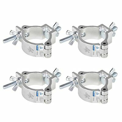 TSSS 4Pack   2 Inch Stage Light O Clamps   DJ Stands Truss Aluminum Alloy Mount