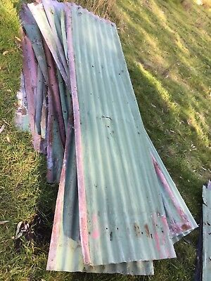 Rustic 50 yr old corrugated iron $2 Per Foot
