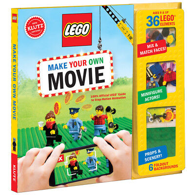 Klutz Lego Make Your Own Movie - Kids Stop Motion Animation Book