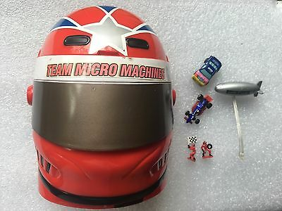 Collectable Micro Machines Championship Racer Transformer Action Set Head 1990`s