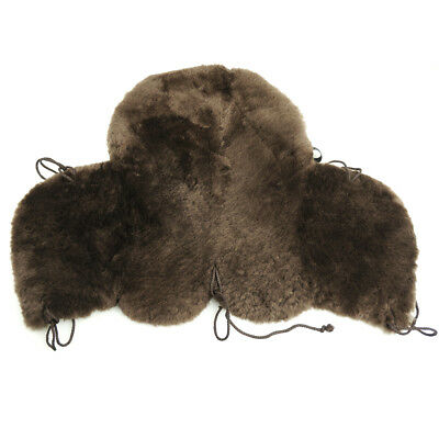 Deluxe Merino Sheepskin Western Saddle Seat Saver Fleece Saddle Pad2005 1