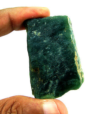 280.00 Ct Natural Green Serpentine Loose Gemstone Rough Specimen - 4475