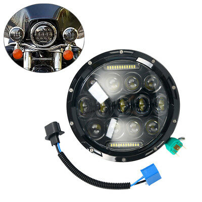 7 Inch 75W Round Daymaker LED Projector Headlight Waterproof Bulb Fast AU Ship