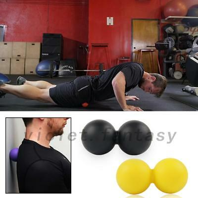 Deep Muscle Recovery Double Peanut Massage Lacrosse Balls Trigger Point