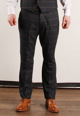 Marc Darcy Eton Trouser Blue