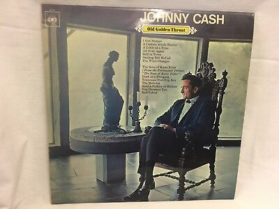 Johnny Cash, Old Golden Throat - Record