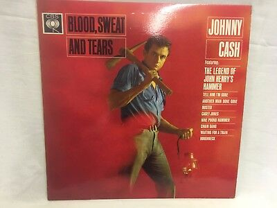 Johnny Cash, Blood Sweat and Tears