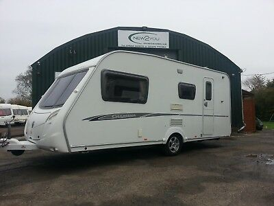 2003 Bailey Pageant Bordeaux- 4 Berth Fixed Bed Caravan - P/x To Clear