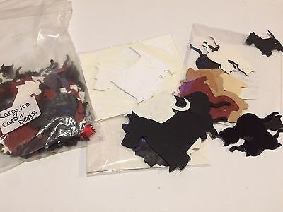 Large Die Cut Out Bundle Cats And Dogs Card Toppers Card Making Scrapbooking 100