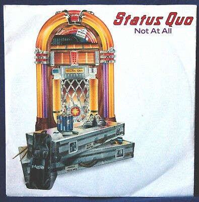 """Status Quo – Not At All - 7"""" VINILE"""