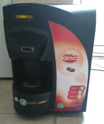 Kenco singles coffee vending drinks machine.
