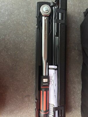 "Wurth 1/2"" Torque Wrench 40-200Nm"