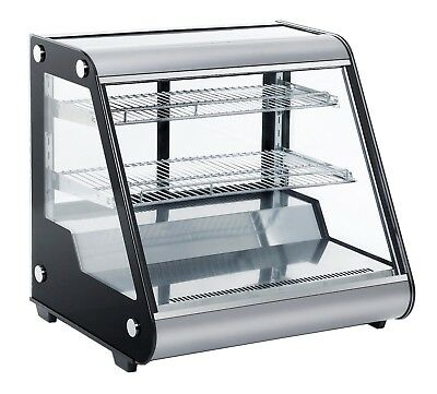 New Refrigeration Counter Top Displays 130 Litre Front Flat Glass Power 180 W