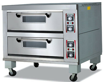 New Two Deck Electric Oven with Micro Digital Computer Display 380 v / 50 Hz