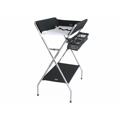 Valco Baby PAX Plus Change Table - Black & Dark Brown Crinkle
