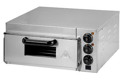 New Single Deck Electric Pizza Oven 220-240 V/ 2000 W Stainless Steel #201