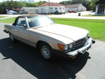 1984 Mercedes-Benz 300-Series sl380 1984 MERCEDES SL380 CONVERTIBLE