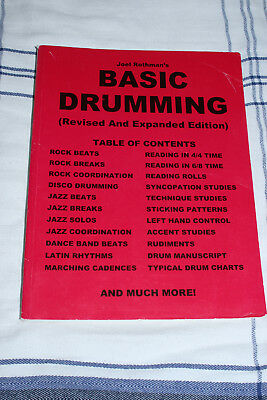 Joel Rothman's Basic Drumming Revised and Extended Edition