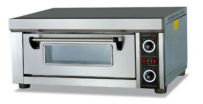 New Electric Infrared Single Deck Pizza Oven 220-240v / 3000w TraySize 40x60 CM