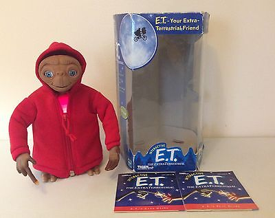 E.T. The Extra Terrestrial Boxed Interactive Toy Tiger Electronics 2000